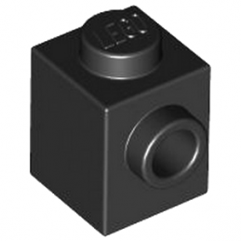 LEGO 407026 ANGULAR BRICK 1X1 - NOIR