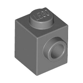 LEGO 4558955 BRIQUE 1X1 W. 1 KNOB - DARK STONE GREY lego-4558955-brique-1x1-w-1-knob-dark-stone-grey ici :