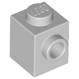LEGO 4558953 BRICK 1X1 W. 1 KNOB - Medium Stone Grey