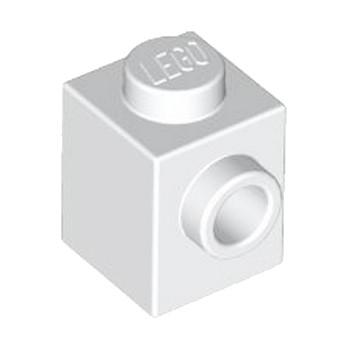 LEGO 4558952 BRICK 1X1 W. 1 KNOB - BLANC lego-4558952-brick-1x1-w-1-knob-blanc ici :