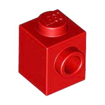 LEGO 4558886 BRICK 1X1 W. 1 KNOB - ROUGE lego-4558886-brick-1x1-w-1-knob-rouge ici :