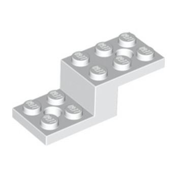 LEGO 6053026 STONE 1X2X1 1/3 W. 2 PLATES 2X2 - BLANC