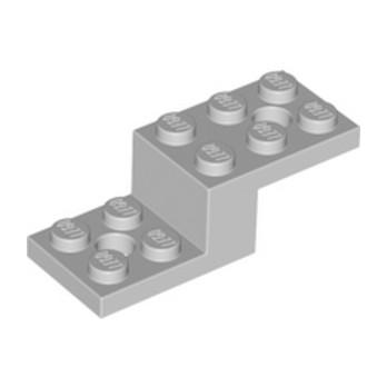 LEGO 6028811STONE 1X2X1 1/3 W. 2 PLATES 2X2 - Medium Stone Grey