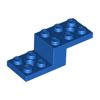 LEGO 6033353 STONE 1X2X1 1/3 W. 2 PLATES 2X2 - BLEU