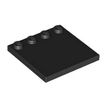 LEGO 617926  PLATE 4X4 W. 4 KNOBS - NOIR