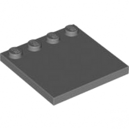 LEGO 4210849  PLATE 4X4 W. 4 KNOBS - DARK STONE GREY