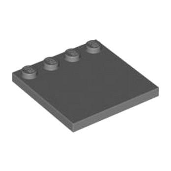 LEGO 4210849  PLATE 4X4 W. 4 KNOBS - DARK STONE GREY