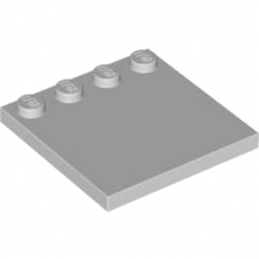 LEGO 4211837 	PLATE 4X4 W. 4 KNOBS - Medium Stone Grey