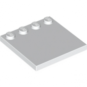 LEGO 617901  PLATE 4X4 W. 4 KNOBS - BLANC