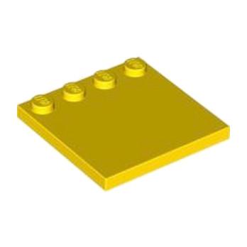 LEGO 617924  PLATE 4X4 W. 4 KNOBS - JAUNE