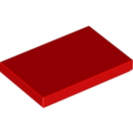 LEGO 6189130 PLATE LISSE 2X3 - ROUGE