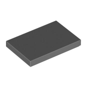 LEGO 6187008 PLATE LISSE 2X3 - DARK STONE GREY