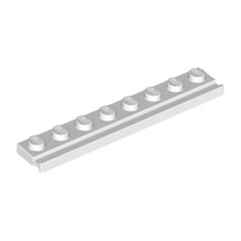 LEGO 4250463  PLATE 1X8 / RAIL - BLANC