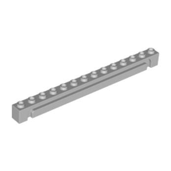 LEGO 4492172 - BRICK 1X14 W. GROOVE - Médium Stone Grey