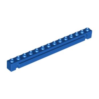 LEGO 6177962 - BRICK 1X14 W. GROOVE - BLEU
