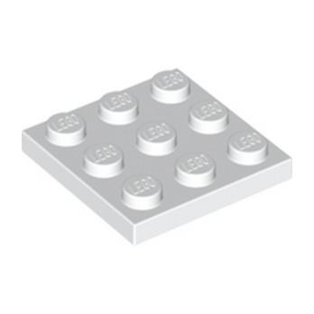 LEGO  6104805 PLATE 3X3 - BLANC