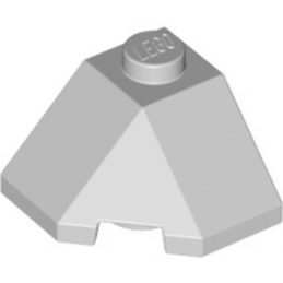 LEGO 6034676 ROOF TILE 2X2X1 45° - MEDIUM STONE GREY