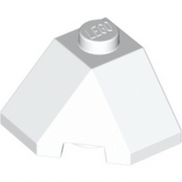 LEGO 6056447 ROOF TILE 2X2X1 45° - BLANC