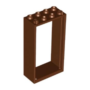 LEGO 6132813 -  Cadre Fenetre 2x4x6 - Reddish brown