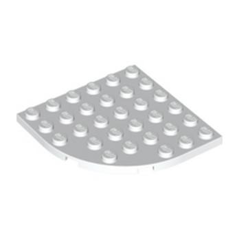 LEGO 6057460 - PLATE 6X6 W. BOW - BLANC