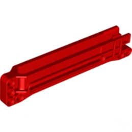 LEGO 6114965 - HOUSING 2X15X3M F/GEAR RACK - ROUGE