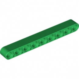 LEGO 6115618 TECHNIC 9M BEAM - DARK GREEN