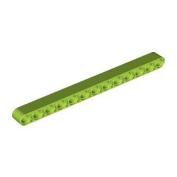 LEGO  6063602 - TECHNIC 13M BEAM - Bright yellowish green