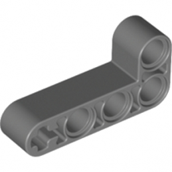 LEGO 6271830 TECHNIC ANG. BEAM 4X2 90 DEG - DARK STONE GREY lego-6271830-technic-ang-beam-4x2-90-deg-dark-stone-grey ici :