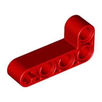 LEGO 6271827 TECHNIC ANG. BEAM 4X2 90 DEG - RED