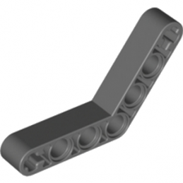 LEGO 4210656 	TECHNIC ANGULAR BEAM 4X4 - Dark Stone Grey
