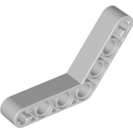 LEGO 4211668	TECHNIC ANGULAR BEAM 4X4 - Medium Stone Grey lego-4211668-technic-angular-beam-4x4-medium-stone-grey ici :