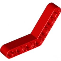 LEGO 3234821 TECHNIC ANGULAR BEAM 4X4 - ROUGE