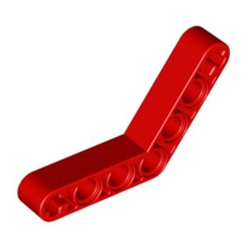 LEGO 3234821 TECHNIC ANGULAR BEAM 4X4 - ROUGE