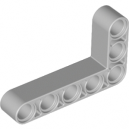 LEGO 4211713	TECHNIC ANG. BEAM 3X5 90 DEG. - Medium Stone Grey