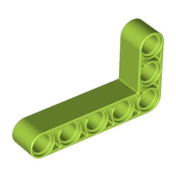 LEGO 4263118TECHNIC ANG. BEAM 3X5 90 DEG. - Bright Yellowish Green
