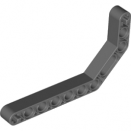 LEGO 4210668 - DOUBLE ANGULAR BEAM 3X7 45° - Dark Stone Grey