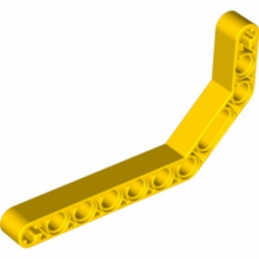 LEGO 4111996 - DOUBLE ANGULAR BEAM 3X7 45° - JAUNE