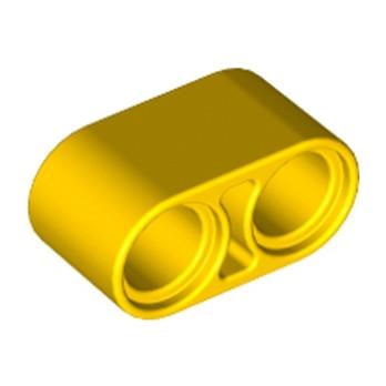 LEGO 4187122 TECHNIC 2M BEAM - JAUNE