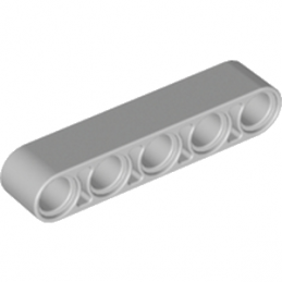 LEGO 4211651	TECHNIC 5M BEAM - Medium Stone Grey