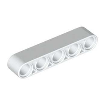 LEGO 4140465TECHNIC 5M BEAM - BLANC lego-4249021-technic-5m-beam-blanc ici :