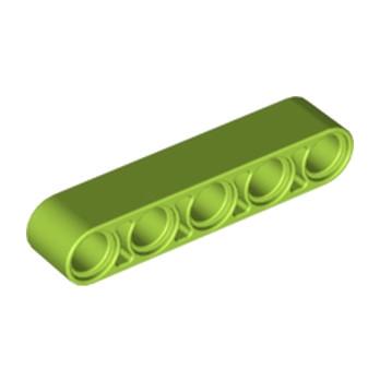 LEGO 4141732 TECHNIC 5M BEAM - Bright Yellowish Green