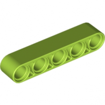 LEGO 4661486 TECHNIC 5M BEAM - BRIGHT YELLOWISH GREEN