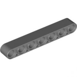 LEGO 4210752	TECHNIC 7M BEAM - Dark Stone Grey
