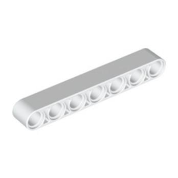 LEGO 4142969TECHNIC 7M BEAM - BLANC lego-4495927-technic-7m-beam-blanc ici :