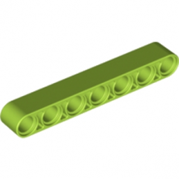 LEGO 4263117 TECHNIC 7M BEAM - Bright Yellowish Green