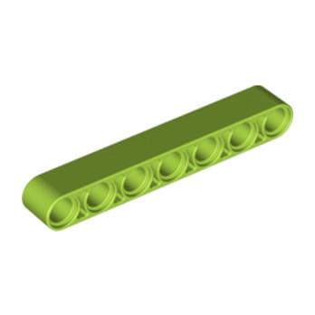 LEGO 6308236 TECHNIC 7M BEAM - BRIGHT YELLOWISH GREEN lego-6308236-technic-7m-beam-bright-yellowish-green ici :
