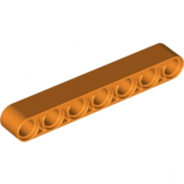 LEGO 6102621 - TECHNIC 7M BEAM - ORANGE