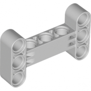 LEGO 6055519 Beam I -frame 3 x 5 90 Degr. Hole Ø4.85 - Médium Stone Grey