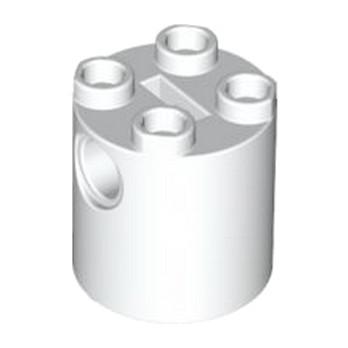 LEGO 4194010- Brique Rond Technic 2x2x2 - BLANC