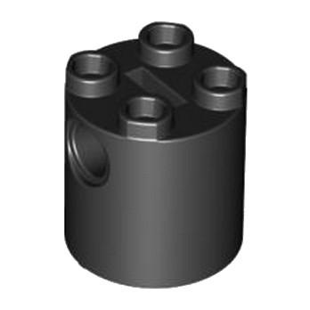 LEGO 4194008 - Brique Rond Technic 2x2x2 - NOIR